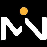 Logo blanco y amarillo
